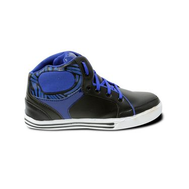 Ten Synthetic Leather Blue Sneakers Shoes -ts190
