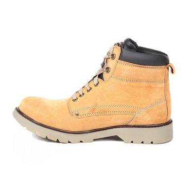 Ten Nubuck Leather Tan Boots -ts169