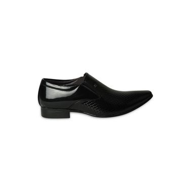 Ten Patent Leather Black Formal Shoes -ts173