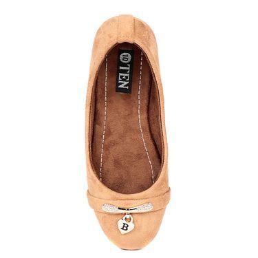 Ten Suede Leather Tan Bellies -ts280