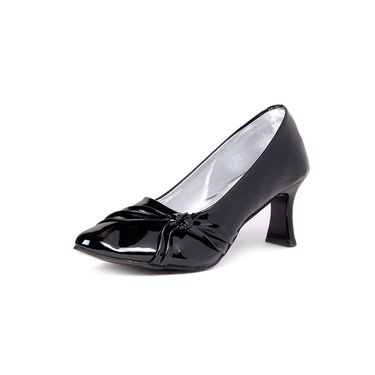 Ten Patent Leather Black Pumps -ts84