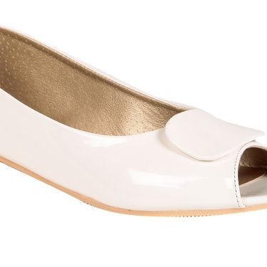 Ten Patent Leather White Bellies -ts262
