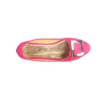 Ten Suede Pink Bellies -ts149