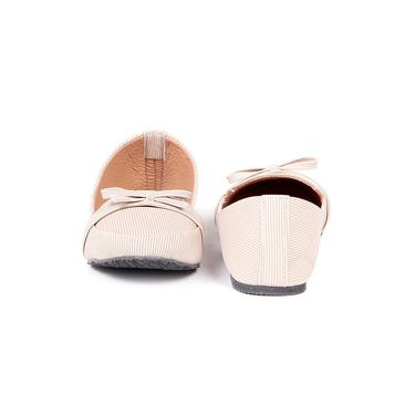 Ten Fabric Beige Loafers -ts129