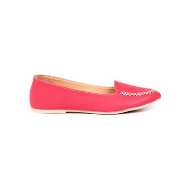 Ten Synthetic Leather Red Loafers -ts257