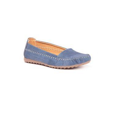 Ten Synthetic 192 Women's Loafers - Blue