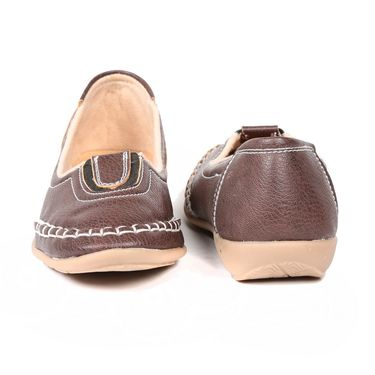 Ten Denim Brown Womens Loafers -ts218