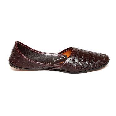 Ten Brown Leather Juttis -mtj08