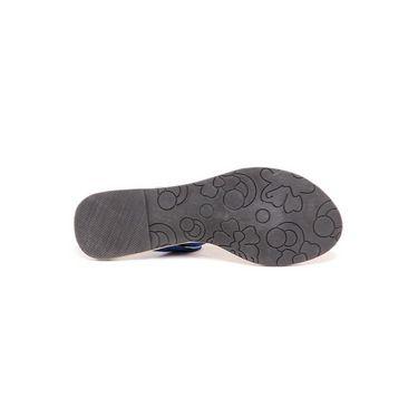Ten Suade Leather 285 Women's Sandals - Blue