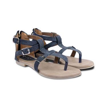 Ten Denim Blue Sandals -ts31