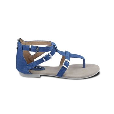 Ten Denim Blue Sandals -ts32