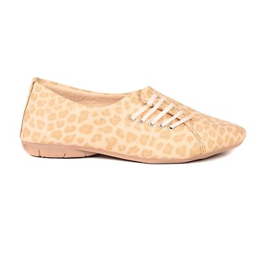 Ten Synthetic Leather Beige & Tan Womes Sports Shoes -ts324