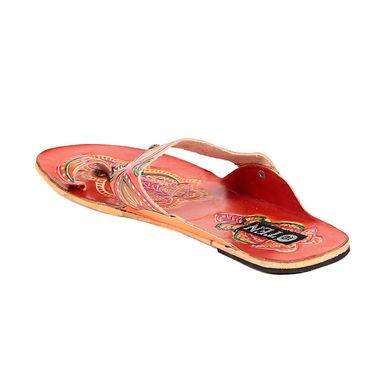 Womens Ethnic Slippers tj10 -Orange