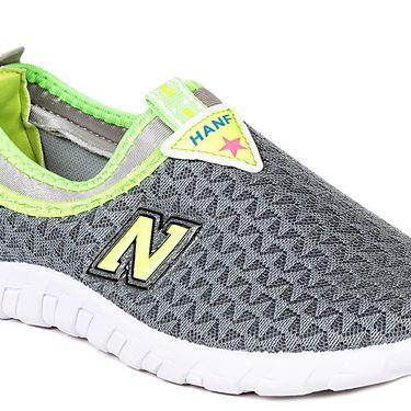 Ten Mesh Grey Womes Sports Shoes -ts331