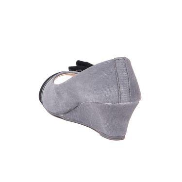 Ten Denim Grey Wedges -ts83