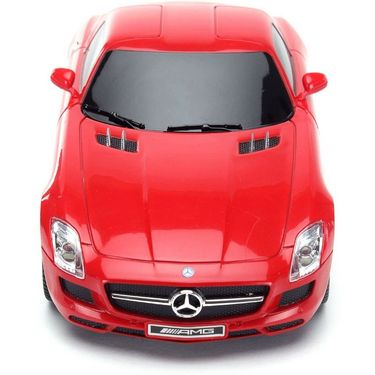 1:24 Scale Licenced RC Mercedes Benz SLS AMG with Shock Absorber and LED Lights (Red)