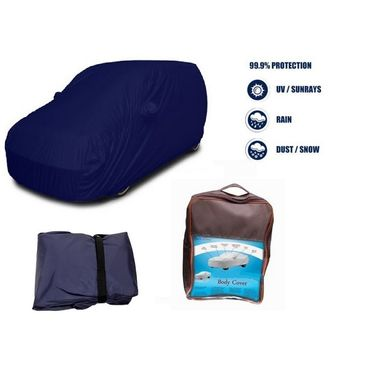 Chevrolet Captivia Car Body Cover  imported Febric with Buckle Belt and Carry Bag-TGS-G-WPRF-3