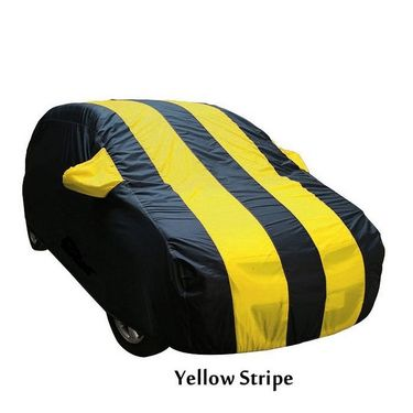 Mahindra KUV 100 Car Body Cover  imported Febric with Buckle Belt and Carry Bag-TGS-G-WPRF-67