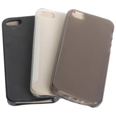 Callmate Transparent Back Cover 3 pack Combo for iPhone 5/5s - Multicolor
