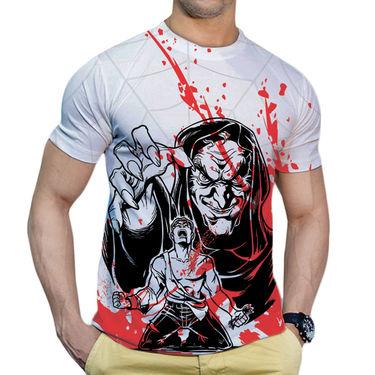 Effit Printed Casual Tshirts_Trw0618 - White