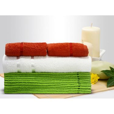 Story@Home 13 Pcs Premium Towel Combo 100% Cotton-Multicolor-TW12_05M-01X-03S