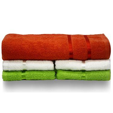 Story@Home 5 Pcs Premium Towel Combo 100% Cotton-Multicolor-TW12_05X-01M-03M