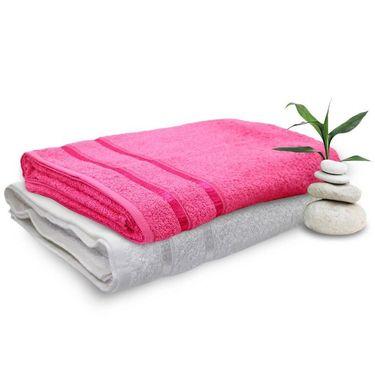 Set of 2 Storyathome Cotton Bath Towel-TW_1201-L_1202-X