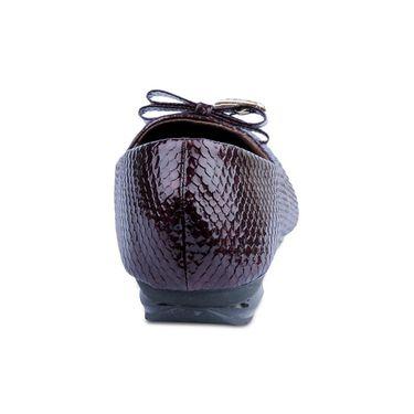 Ten Patent Leather Bellies For Women_tenbl003 - Maroon