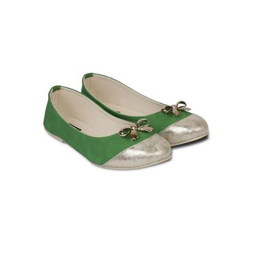 Ten Faux Leather Bellies For Women_tenbl014 - Green