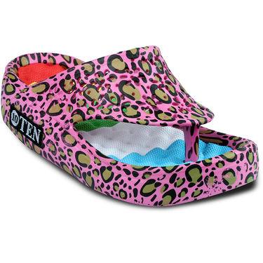 Ten PVC Slippers For Women_tenbl058 - Pink