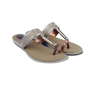 Ten Synthetic Sandals For Women_tenbl181 - Brown
