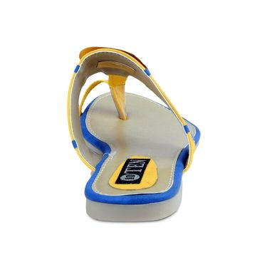 Ten Faux Leather Sandals For Women_tenbl196 - Yellow