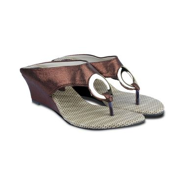 Ten Synthetic Sandals For Women_tenbl197 - Brown
