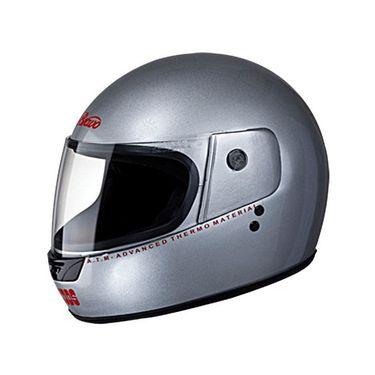 Studds - Full Face Helmet - Bravo (Silver Grey) [Large - 58 cms]