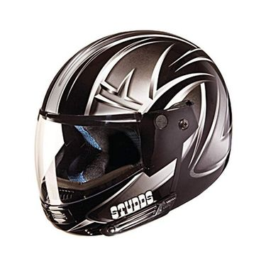 Studds - Full Face Helmet - Ninja Decor FlipUp (D5 Black N4) [Extra Large - 60 cms]