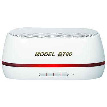 Adcom Mini-BT06 Wireless Mobile/Tablet Speaker - White