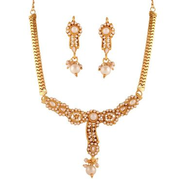 Combo of 3 Variation Necklace Sets With Earrings_Vd14045