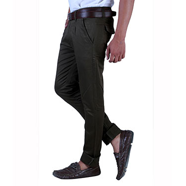 Pack of 2 Velgo Club  Plain Comfort Fit Cotton Lycra Chinos_12415128