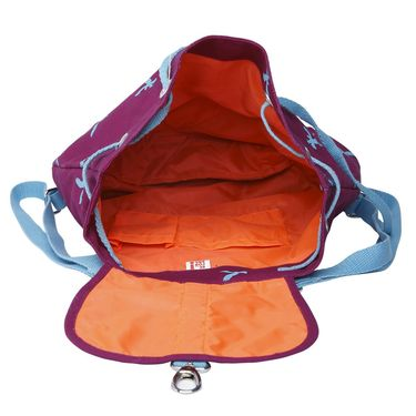 Be For Bag Canvas Backpack Dark Pink -Vella