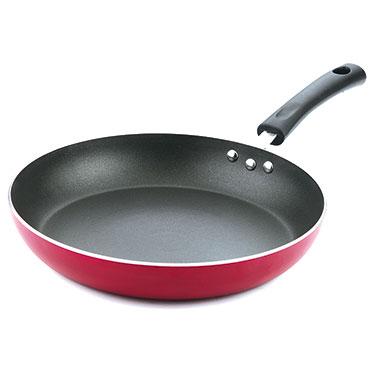 Vinod Zest Induction Friendly Frypan - Red & Black IZFP -24