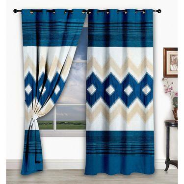 Storyathome Set of 2  Window curtain-5 feet-WCL_2-1017