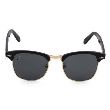 Royal Son Wayfarer Metal Sunglasses_What1555 - Black