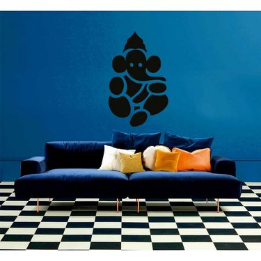 Ganesha Decorative Wall Sticker-WS-08-014