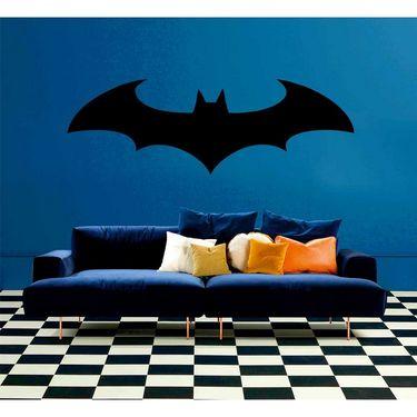 Black Bat Decorative Wall Sticker-WS-08-032