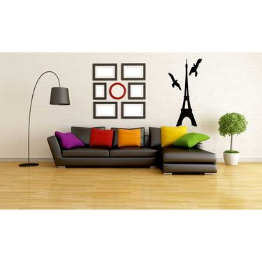 Eiffle Tower Decorative Wall Sticker-WS-08-037