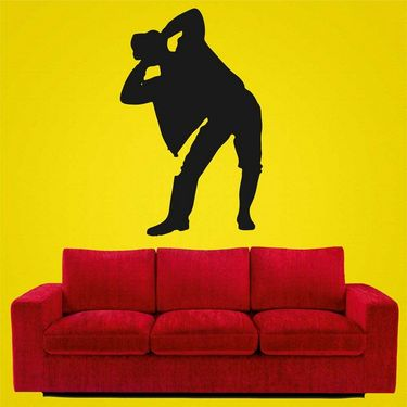 Funny Men Decorative Wall Sticker-WS-08-054
