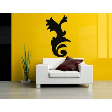 Black Decorative Wall Sticker-WS-08-063