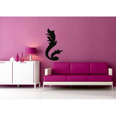 Black Decorative Wall Sticker-WS-08-064