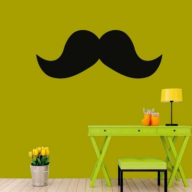 Mustachues Decorative Wall Sticker-WS-08-073