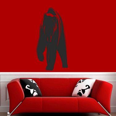 Black Animal Decorative Wall Sticker-WS-08-204
